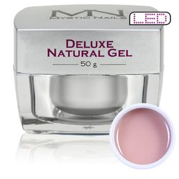 Deluxe Natural Gel, Rakennegeeli, 50g