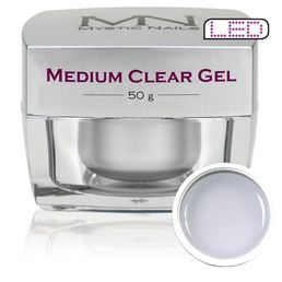 Medium Clear Gel, Rakennegeeli, 50g
